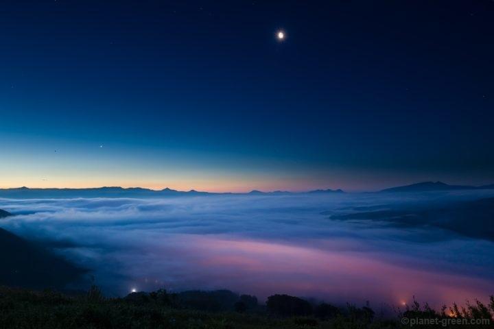 ニセコ某所からの雲海