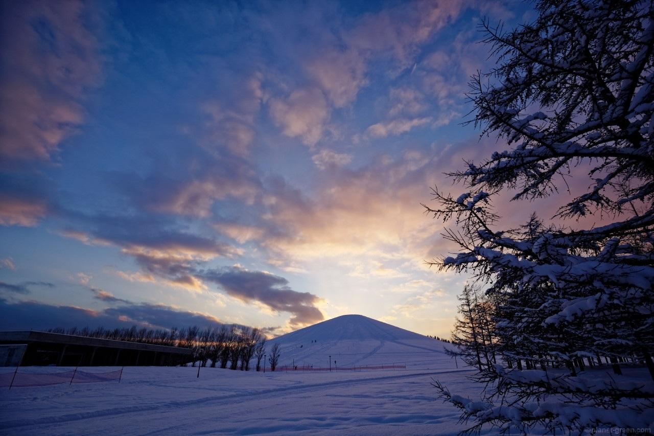 冬のモエレ沼公園