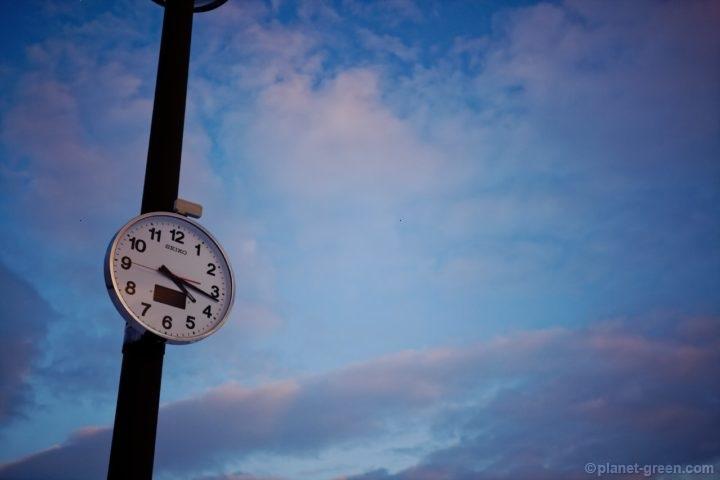 モエレ沼公園の時計