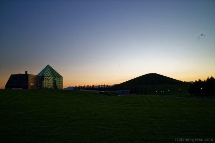 モエレ沼公園の黄昏