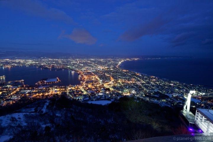 函館山展望台からの函館の夜景