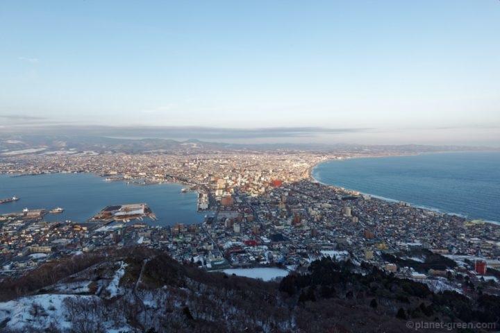 函館山展望台からの眺め(昼)