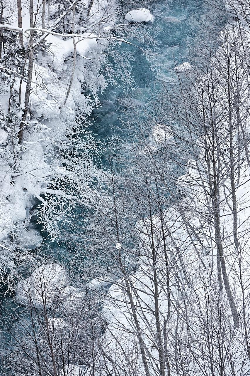 美瑛・白金温泉 | 白ひげの滝