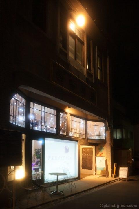 近未来メイドカフェ。(旧)岡川薬局 CafeWhiteにて。