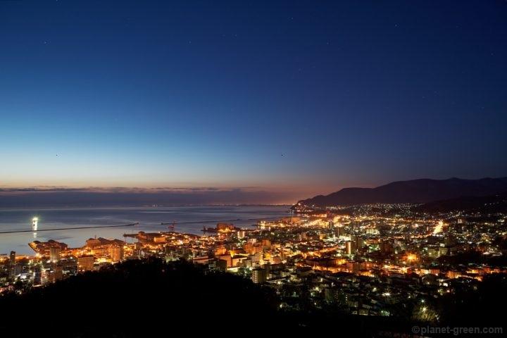 小樽市・旭展望台からの夜景