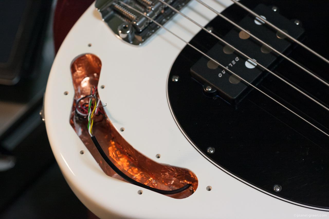 Musicmanスティングレイの改造