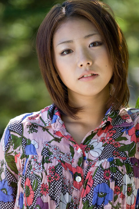 篠宮絵梨さんのポートレート