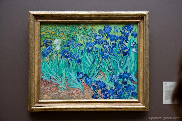 Irises / Vincent van Gogh フィンセント・ファン・ゴッホ《アイリス》1889
