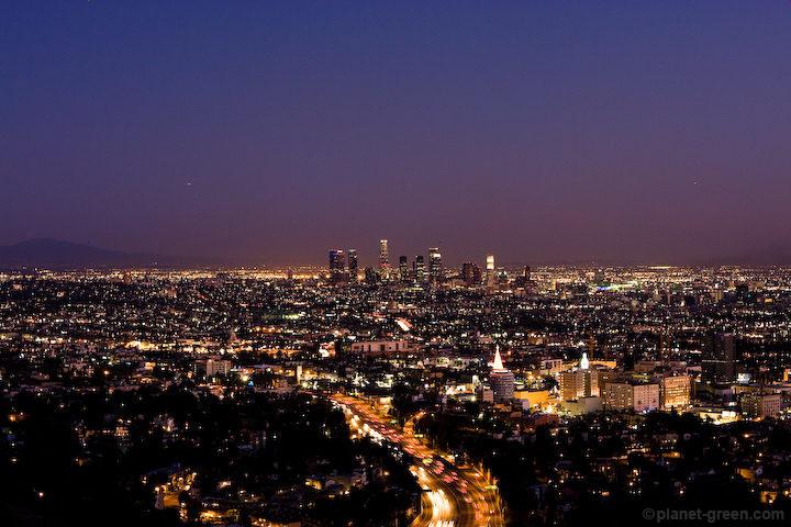 Los Angelesの夜景