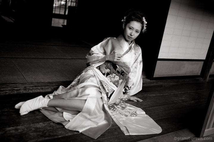 咲良夢美さん / 北海道開拓の村にて