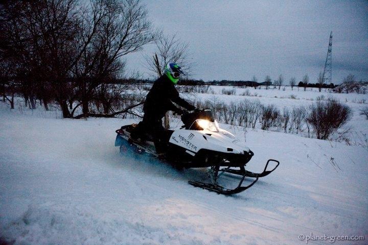 モエレ沼公園 SNOWSCAPE MOERE IV (2009年)