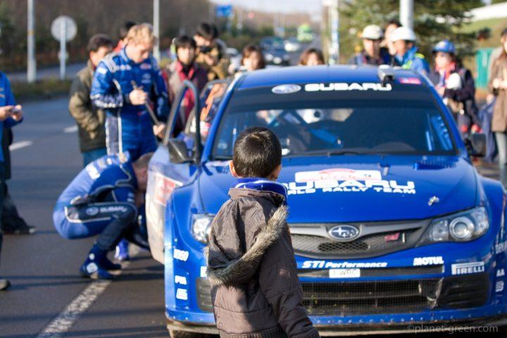 スバル・インプレッサ   WRC JAPAN 2008