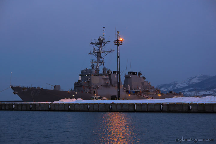 米海軍アーレイ・バーク級ミサイル駆逐艦・フィッツジェラルド