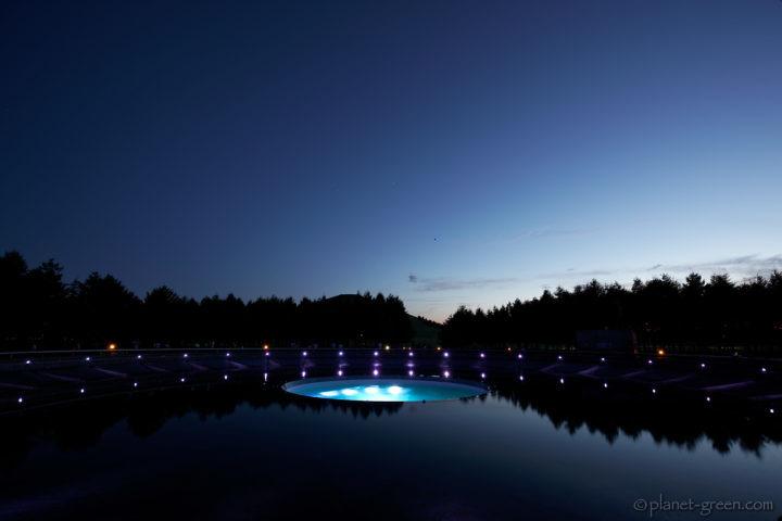 モエレ沼公園・海の噴水