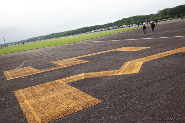 大樹町多目的航空公園 滑走路
