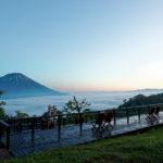 留寿都の雲海テラス