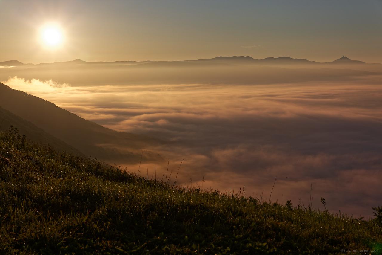 留寿都の雲海