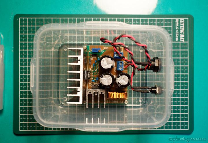CANON EOS 5Dシリーズ用外部電源(降圧コンバータ)