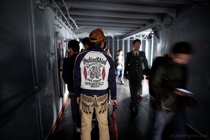 ロシア海軍ミサイル巡洋艦ヴァリャーク(Варяг)の2018年函館港訪問