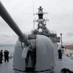 「護衛艦はまぎり」の62口径76mm単装速射砲