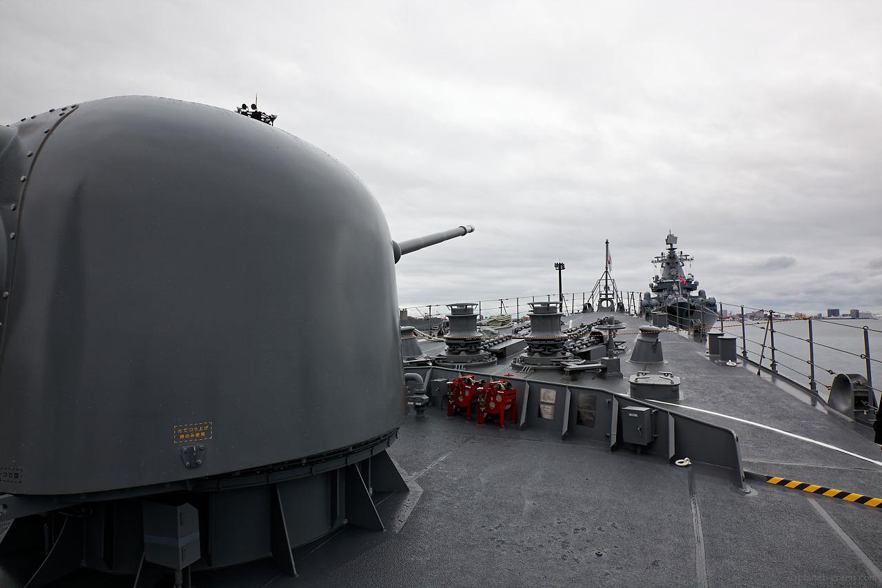 「護衛艦はまぎり」と「ロシア海軍ミサイル巡洋艦ヴァリャーク」