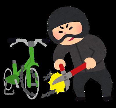 いらすとや - 自転車泥棒