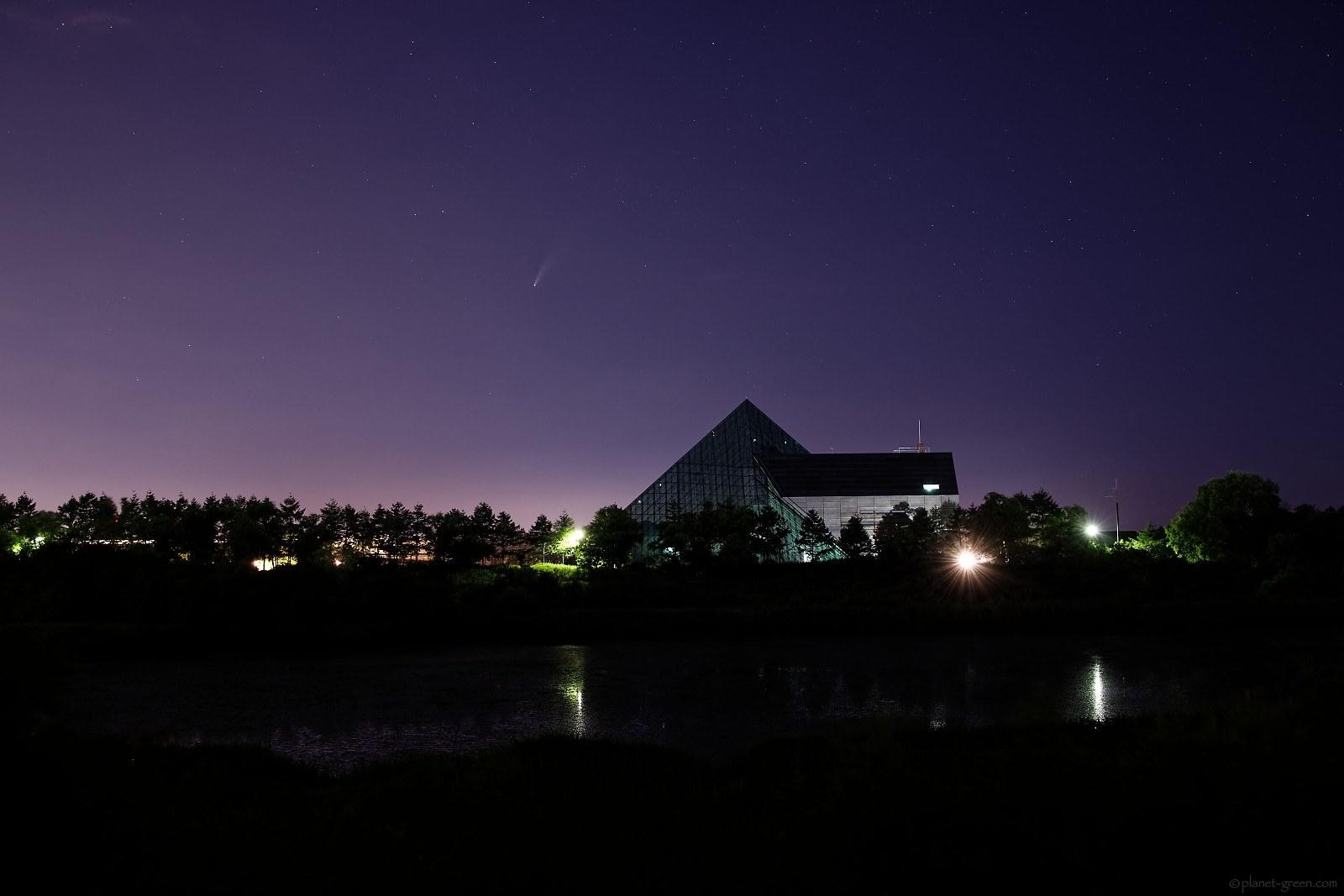 ネオワイズ彗星 Comet Neowise C/2020 F3 札幌モエレ沼公園にて
