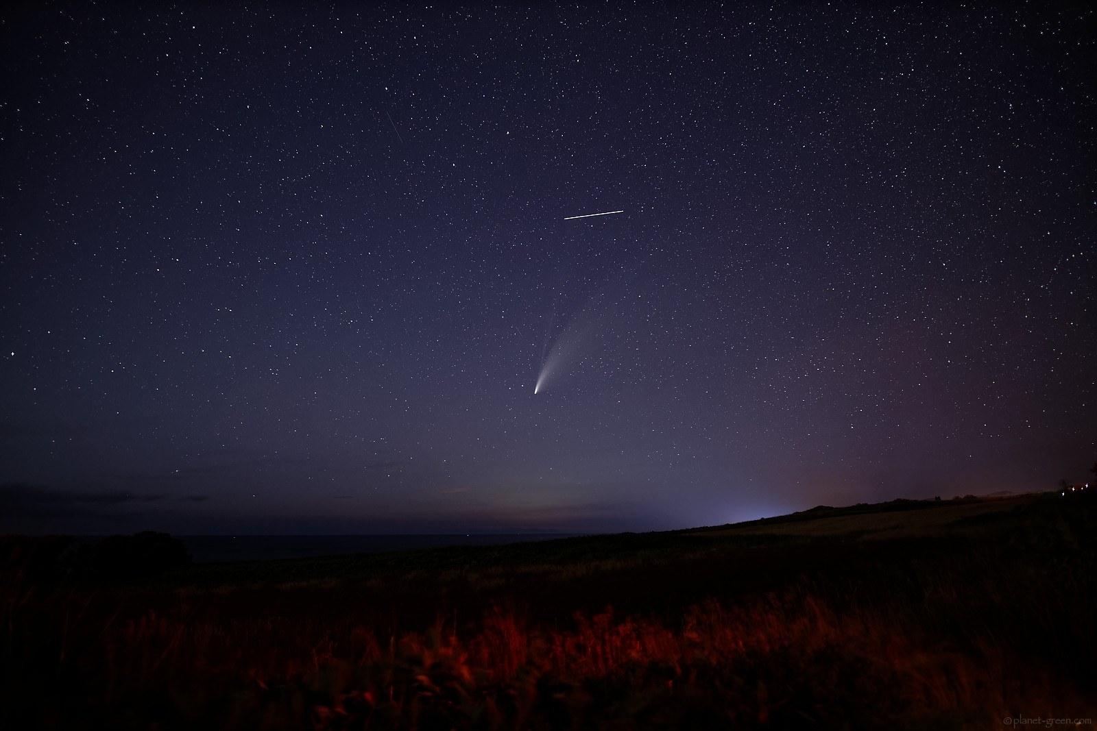ネオワイズ彗星 Comet Neowise C/2020 F3