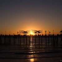 Redondo Beach(レドンドビーチ)の夕日